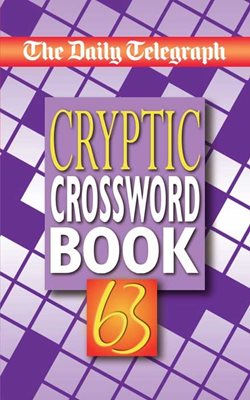 Daily Telegraph Book of Cryptic Crossword 63